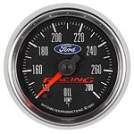 Autometer Ford Blue Oval Logo Gauges