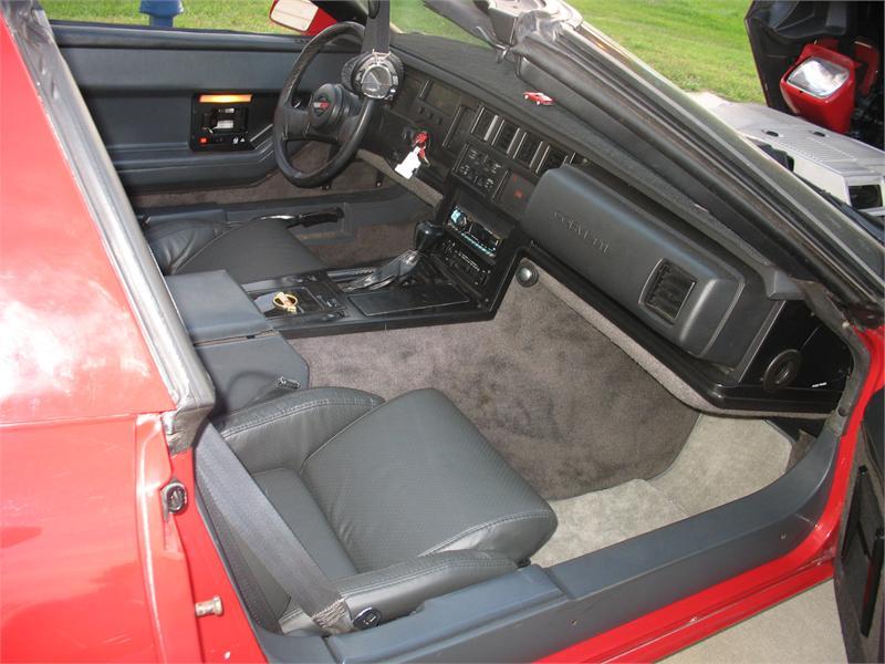 Corvette 1984 Targa Top Red C 4 With 68000 Miles