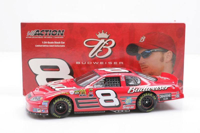 Nascar Diecast Dale Earnhardt Jr Quot Bud Quot Diecast 1 24 Scale Car