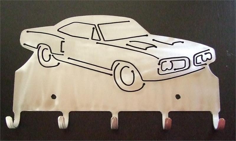 Custom Key Holder Special Bee Muscle Car