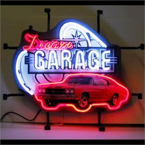 Neon Sign Dream Garage Chevelle SS 5DGCHV