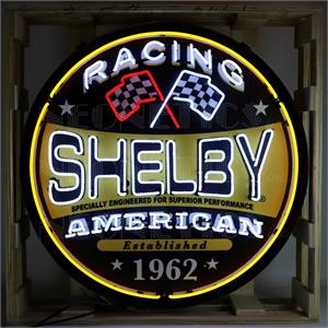 Neon Sign Shelby American Racing 9SHLRC