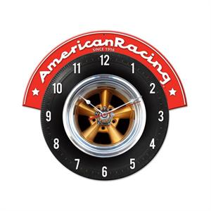 American Racing Wheels Wall Clock
