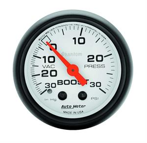 Autometer Phantom Boost Vacuum Gauge 5703