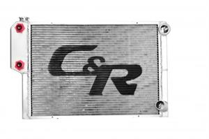 C & R Racing Radiator (Low Outlet Ford)