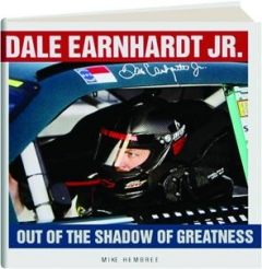 Dale Earnhardt Jr. Hard Cover Book