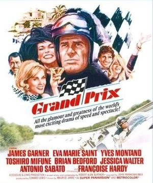 Grand Prix Movie On DVD (1966)