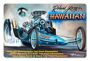 Hawaiian Dragster Sign