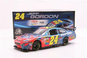 Jeff Gordon Dupont Diecast Race Car 24