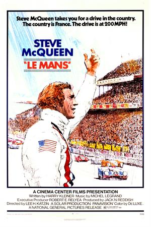 Steve McQueen Le Mans Movie On DVD