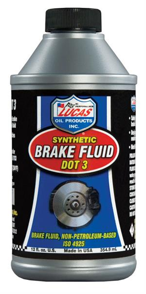 Lucas Oil Synthetic Brake Fluid DOT 3 10825
