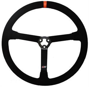 MPI Light Weight Suede Steering Wheel MPI-MP-15-O
