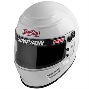 Simpson Helmet Voyager Gloss White SA 2015-Close Out