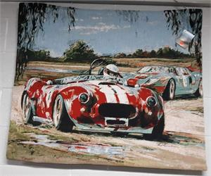 Shelby Cobra Man Cave Wall Tapersty