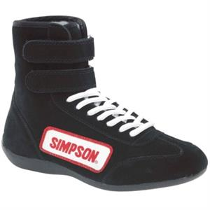 Simpson High Top Racing Shoes Black