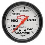 Autometer Chevrolet Bow Tie Water Temperature Gauge