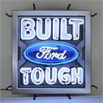 Neon Sign Built Ford Tough 5FRBFT