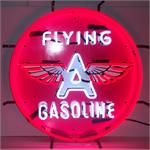 Neon Sign Flying A Gasoline 5GSFLY