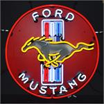 Neon Sign Ford Mustang 5MUSTB