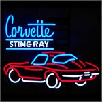 Neon Sign Corvette Sting Ray 5STING