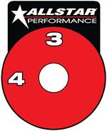 Allstar Performance Decal Brake Shut Off ALL48011