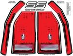 ALL23017 Monte Carlo Tail Light Decals