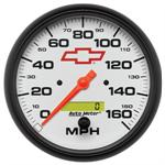 5889-00406 Autometer Chevy Bow Tie Racing Speedometer (In Dash)