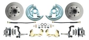 1964-1972 GM A Body (Chevelle, GTO, Cutlass) Stock Height Front Disc Brake Kit Stock Height Spindles