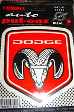 Dodge Ram Truck Decal