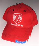 Dodge Ram Hat Red