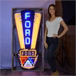 Neon Sign Ford Jubilee In Metal Can 9FORDJ