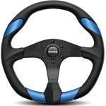 Momo Steering Wheel 350 mm Blue Leather Insert MOMQRK35BK0BU