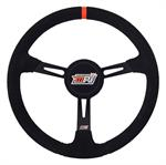 MPI Light Weight Suede Steering Wheel-With Center Pad MPI-LM-15-A