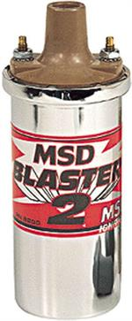 MSD Ignition Coil Blaster II Chrome MSD8200