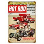 Tom Mongoose Mcewen Hot Rod Magazine Sign