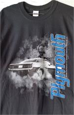 Plymouth Smokin Tires Tee Shirt