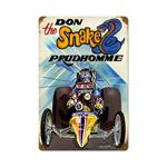 Don The Snake Prudomme Dragster Sign
