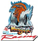 Mongoose Racing Logo Wall Sign